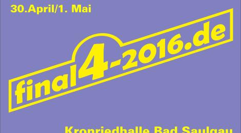 Final4 - Der Kampf um den Bezirkspokal am 30.04. und 01.05.