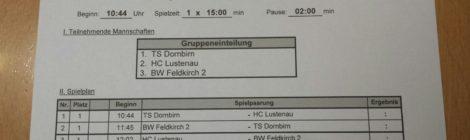 U10 startet in Dornbirn