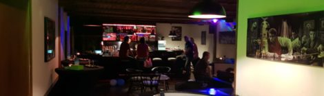 Sponsor Pizzeria Ristorante Regina eröffnet neue Bar
