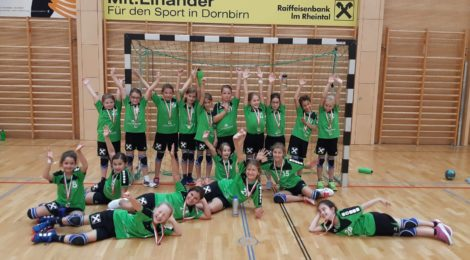 Spieltag der weiblichen U10, Sonntag 6.10.2019, Dornbirn Schoren