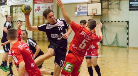 Unsere Herren scheitern ganz knapp an ÖHB Cup Sensation (HC Lustenau - Union Leoben 28:30)
