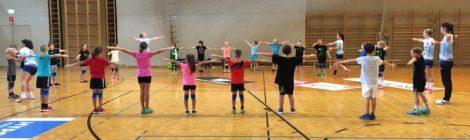 Training mit den Profis der Damenmannschaft BW Feldkirch