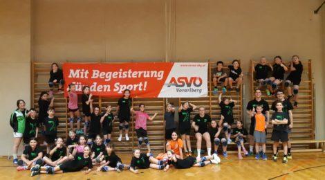 U10 Trainingstag in der Gymnasiumhalle