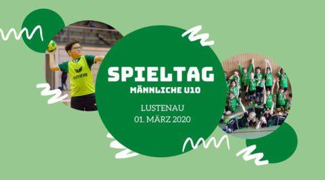 Männlicher u10 Spieltag in Lustenau am 01.03.2020