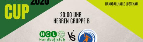 VHV Cup: Herren 2 vs. HcB Lauterach